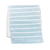 NON-NO 紗布橫條毛巾 - 藍色【愛買】