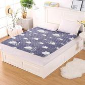 法蘭絨床褥子墊背床鋪墊子薄款鋪床被墊褥1.5米1.8m珊瑚絨床墊1.2『櫻花小屋』