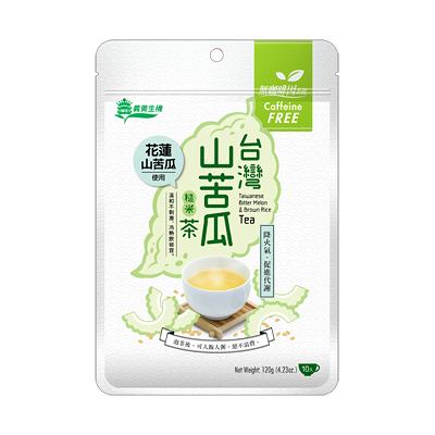 義美生機台灣山苦瓜糙米茶12g*10入/包