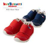 兒童 學步鞋 經典款賓斯熊刺繡(第二階段)HOT BISCUITS【MIKIHOUSE】70-9317-265