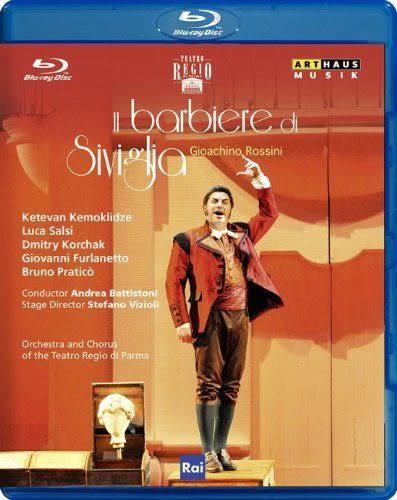 【正版全新DVD清倉 4.5折】Rossini: Il barbiere di Siviglia【1Blu-rayDisc】