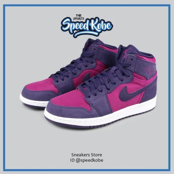海外直送 NIKE AIR JORDAN 1 HIGH GG 紫桃紅 AJ1 籃球鞋 女 332148-608☆SP☆