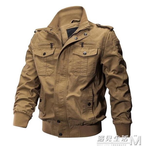 男士軍裝執政官特種兵飛行員外套男夾克二戰美軍軍迷戰術外套 聖誕節全館免運