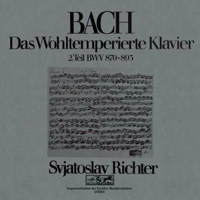 李希特 巴哈:鋼琴平均律 II CD Svjatoslav Richter/ Bach:Das Wohltemperierte Klavier BWV 870-893
