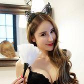 天使衣裳 8104 蕾絲耳朵頭飾 飾品 可愛蕾絲貓耳朵髮箍 生日 聚會 派對 配件 萬聖節