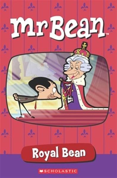 (二手書)Scholastic Popcorn Readers Level 1: Mr Bean: Royal Bean with CD