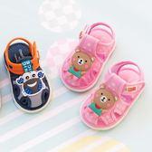 寶寶布涼鞋夏女寶寶鞋子男0一1-2歲嬰兒軟底學步 KB354【每日三C】