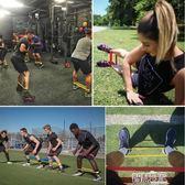 拉力器 環形迷你彈力帶健身拉力拉伸瑜伽提臀練臀女運動力量訓練男阻力圈【全館九折】