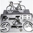 拼裝款自行車模型 市場少見合金益智DIY玩具 多款色