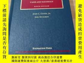 二手書博民逛書店SECURITIES罕見REGULATION CASES AND