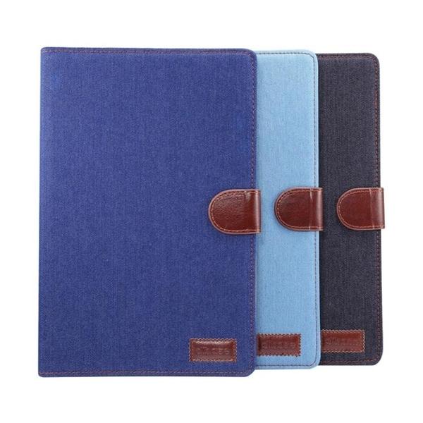 HUAWEI MediaPad T3 8.0 9.6 10 保護套牛仔布翻蓋插卡支架皮套平板保護套平板套