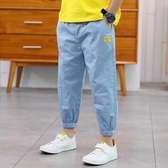 童裝男童兒童褲子夏裝季超薄防蚊褲牛仔新款中大童潮洋氣寬鬆 快速出貨