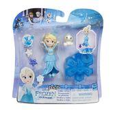 《 Disney 迪士尼 》迷你公主系列 - 艾莎公主小雪人旋轉組╭★ JOYBUS玩具百貨