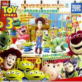 全套7款【日本正版】玩具總動員3 人物場景組 P2 扭蛋 轉蛋 第2彈 迪士尼 皮克斯 Disney - 818271