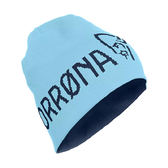Norrona 老人頭 /29 Reversible Cotton Beanie 有機棉雙面保暖帽 輕率藍