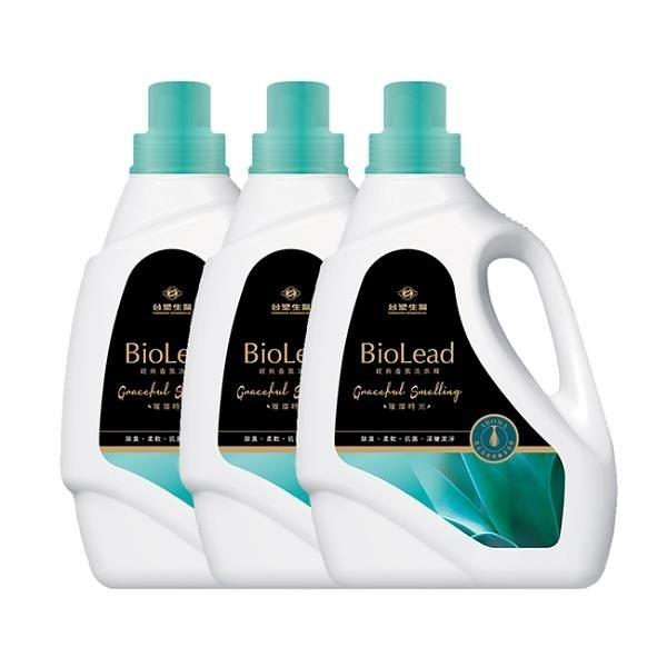 【南紡購物中心】《台塑生醫》BioLead經典香氛洗衣精 璀璨時光2kg(3瓶)