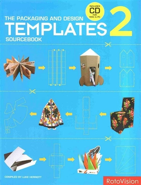(二手書)THE PACKAGING AND DESIGN:TEMPLATES SOURCEBOOK 2