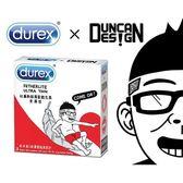 衛生套 Durex杜蕾斯 x Duncan聯名設計限量包保險套-Boy (3入/盒) 安全套 避孕情趣用品