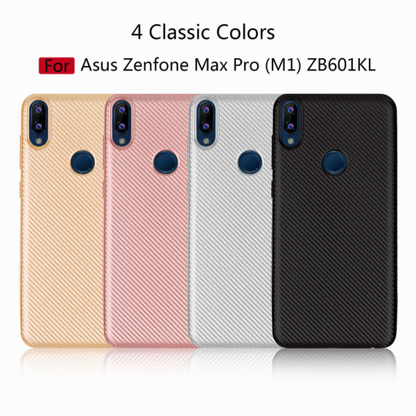 【SZ34】華碩Zenfone Max Pro (M1) ZB601KL手機殼= 磨砂碳纖維紋手機殼 ZB601KL保護殼