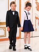 女童黑皮鞋大童軟底真皮公主鞋兒童單鞋白色舞蹈英倫風學生演出鞋 格蘭小舖