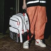 超大容量書包女高中大學生時尚潮流雙肩包chic原宿韓版旅行背包男