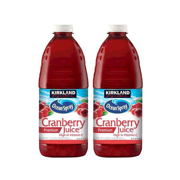 [COSCO代購] W596444 科克蘭 蔓越莓綜合果汁 2.84公升 X 2入