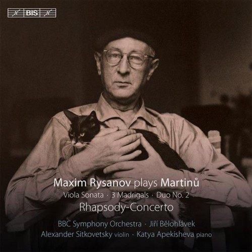 【停看聽音響唱片】【SACD】馬替努:中提琴作品