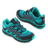 所羅門 SALOMON 女慢跑鞋 X-PEARL (藍綠) 一般楦 越野跑鞋 L38143500【 胖媛的店 】