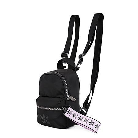 【母親節跨店折後$1580】adidas MINI BACKPACK 背包 後背包 休閒 潮流 黑紫 小包 側背 FL9616