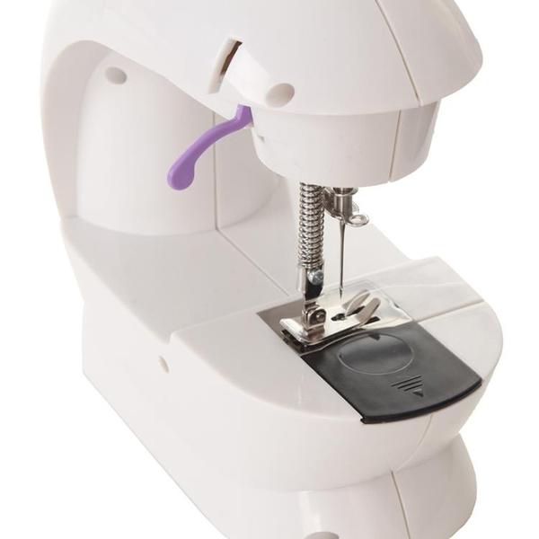 縫紉機 佳柔202家用縫紉機電動迷你台式微型縫紉機吃厚小型車衣手動腳踏