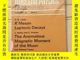 二手書博民逛書店progress罕見in nuclear physics the anomalous magnetic momen