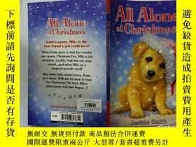 二手書博民逛書店All罕見Alone at Christmas:一個人在聖誕節Y200392