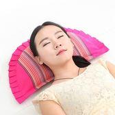 牽引枕 頸椎專用枕 頸椎枕頭脊柱護頸椎枕成人保健修復護頸枕蕎麥皮枕芯 玩趣3C
