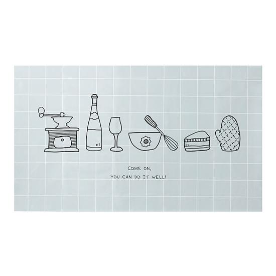 鋁箔 防油煙貼 壁紙 耐高溫 防水 壁貼 櫥櫃貼紙 瓷磚 牆貼 貼膜廚房 防油貼紙 【T016-1】MY COLOR