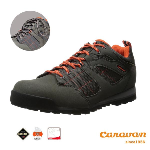 【日本Caravan】  C7_03 低筒登山健行鞋 (灰色)