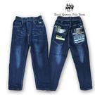 刷白壓縐造型後口袋彈性牛仔褲 RQ PO...