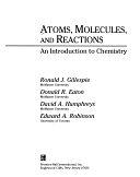 二手書博民逛書店 《Atoms, Molecules, and Reactions: An Introduction to Chemistry》 R2Y ISBN:0130887900