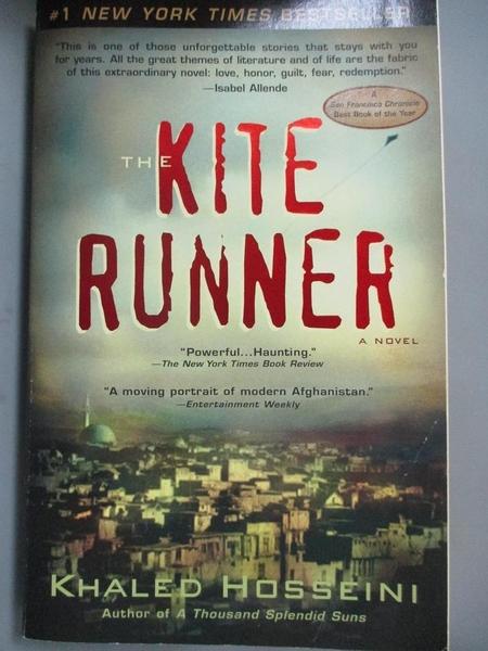 【書寶二手書T5/原文小說_GMZ】The Kite Runner 追風箏的孩子_精平裝: 平裝本
