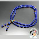 印度藍琉璃108念珠8mm 【十方佛教文物】