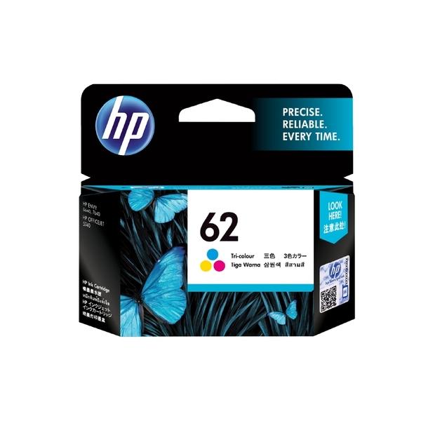 HP NO.62 62 彩 原廠墨水匣 盒裝 適用5640/7640/5740