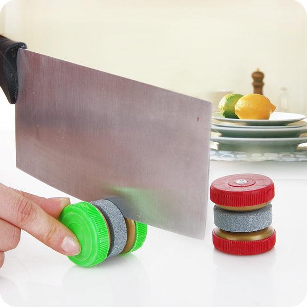 創意家居圓形磨刀石 家用磨刀器 家居廚房餐具