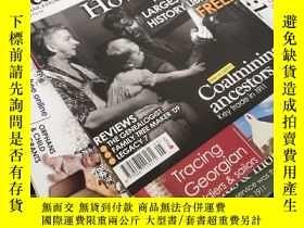 二手書博民逛書店family罕見tree magazine(家譜雜誌83本合售)