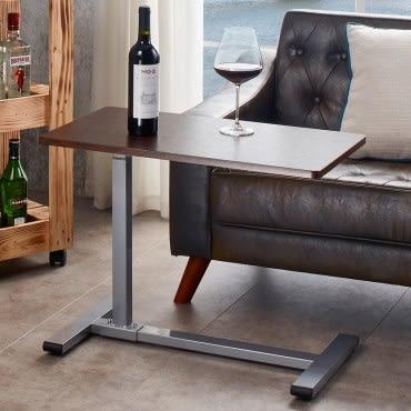 氣壓昇降活動邊桌 (採E1板材) HK-51661 70x40x75cm