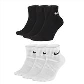 Nike Everyday CA 三入組 黑白 中筒襪 訓練襪 運動襪 SX7667-010 SX7667-100