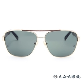 MONTBLANC 萬寶龍眼鏡 MB463T 28N (金) 經典雙槓 太陽眼鏡 久必大眼鏡