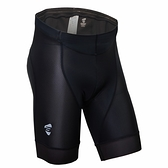 【亞特力士ATLAS】男五分透氣車褲(五代) 30℃~38℃ S-723-B(黑)
