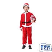 聖誕節兒童服裝男女表演服聖誕節演出服聖誕老人【英賽德3C數碼館】