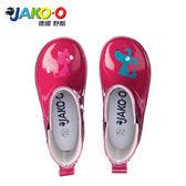 JAKO-O德國野酷-Lili&Rex 雨靴-葡萄紅