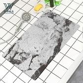 【好物良品】浴室防滑絲圈瀝水墊40×70cm_灰大理石_長方型款灰大理石_40×70cm