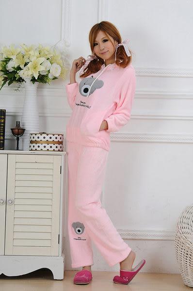 【Sexy cat】甜心小熊  俏皮二件式睡衣/睡袍/居家服